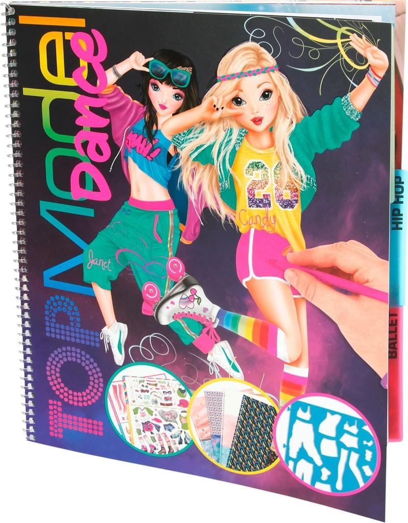 Buy Top Model Dance Coloring Book 048580