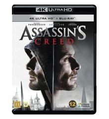 Assassin's Creed (4K Blu-Ray)