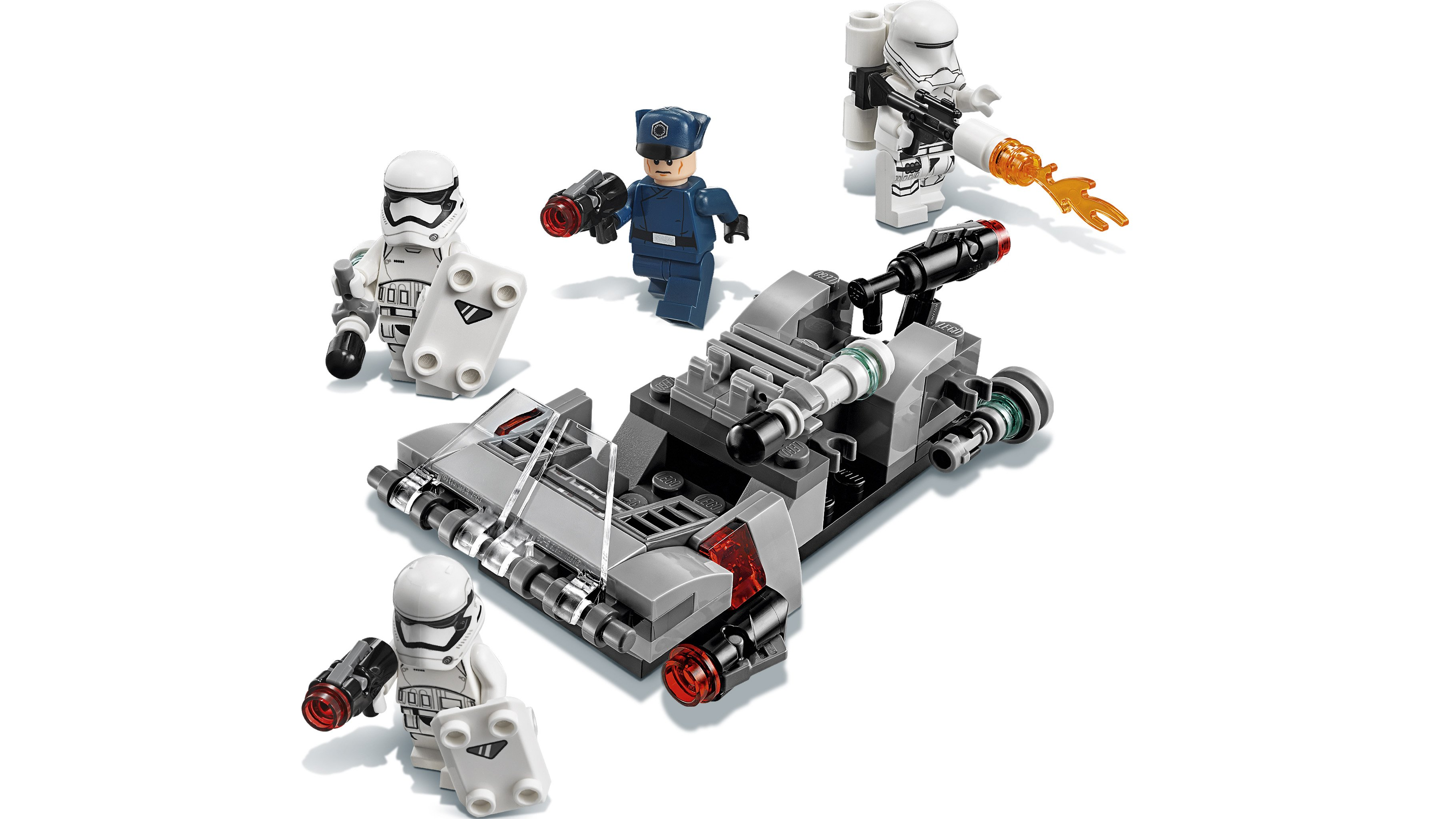 LEGO Star Wars First Order Stormtrooper with shield NEW from 75166