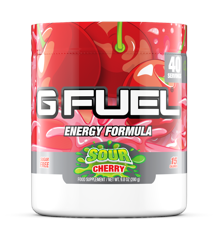 G Fuel - Sour Cherry Tub - 40 Servings