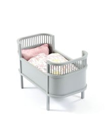Smallstuff - Rosaline Doll Bed - Grey ( 51000-09)
