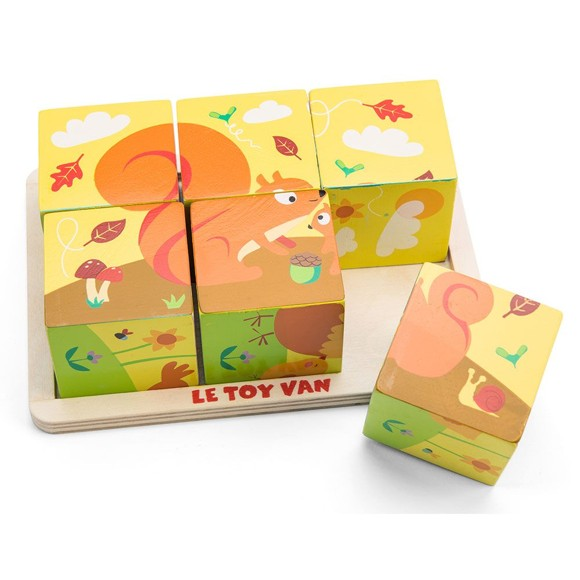 Le Toy Van - Petilou, All Seasons Cube (LPL086)