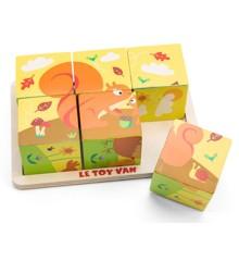 Le Toy Van - Petilou, Klodspuslespil med årstider