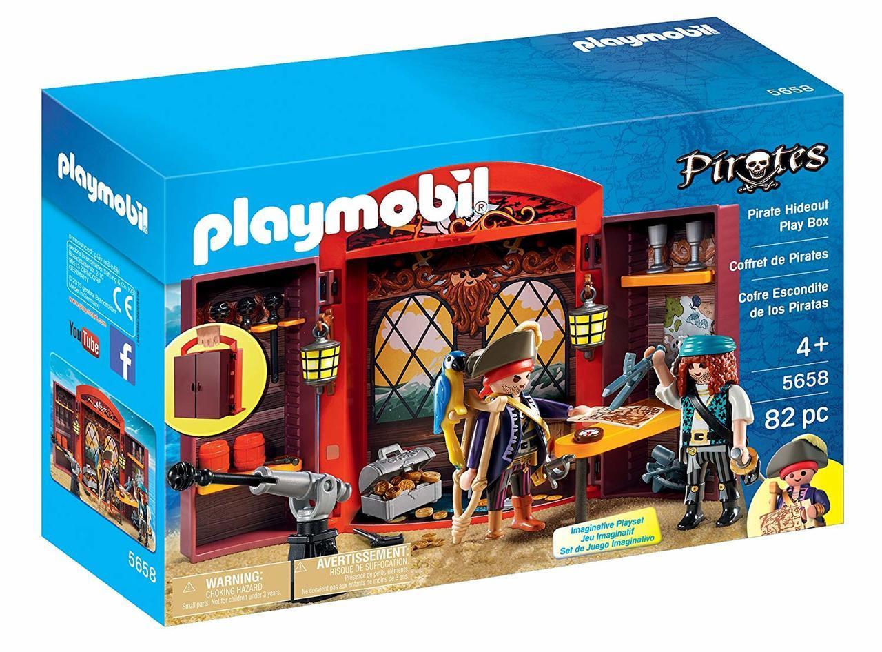 Playmobil - Pirates Hideout Playbox (5658)