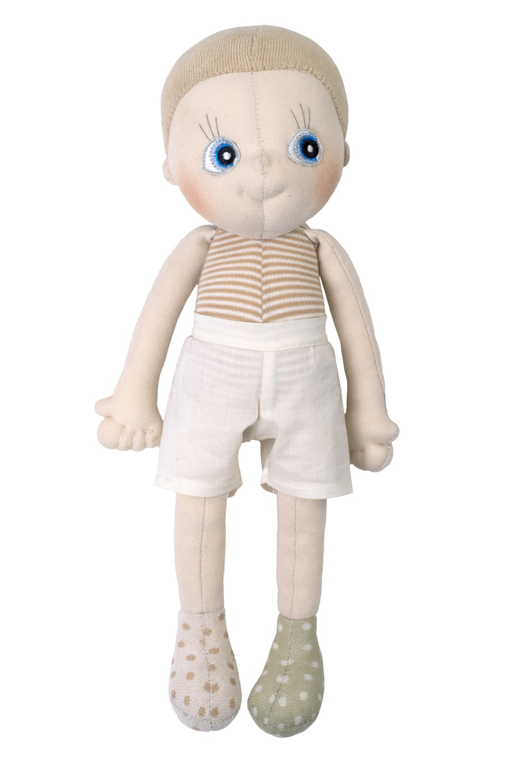 Rubens Barn - Bio-EcoBuds Puppe, Aspen