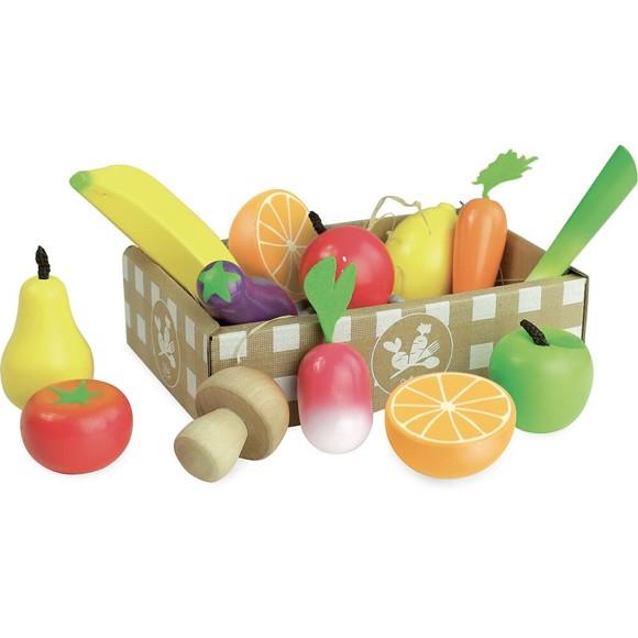 Vilac - Play Food - Fruit & Vegetable (8103)