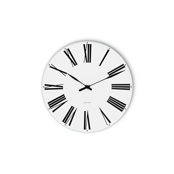 Arne Jacobsen - Romersk veggklokke Ø 21 cm