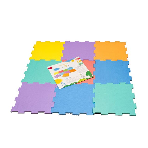 Happy Baby - Soft Floor mats 9 pcs, 30x30 cm (502085)