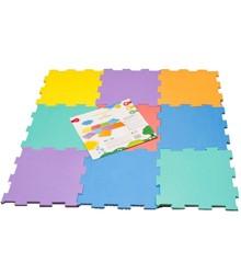 Happy Baby - Soft FloorLegegulv, 9 stk, 30x30 cm