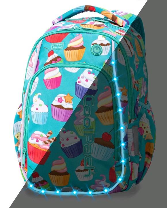 Coolpack - LedPack Schoolbag - Cupcakes