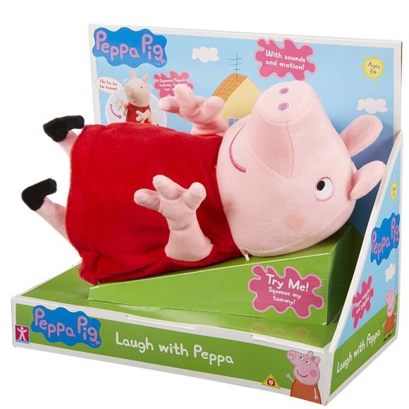 Peppa Pig - Laughing Peppa Plush (905-06527))