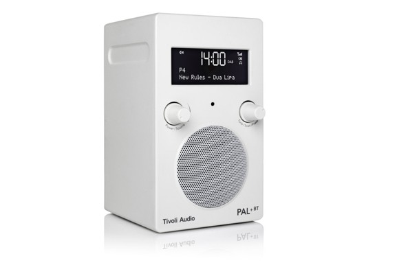 Tivoli Audio - PAL+ BT DAB+/FM Portable Radio White