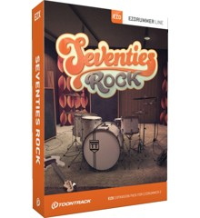 Toontrack - EZX Seventies Rock - Udvidelses Pakke Til EZdrummer (DOWNLOAD)