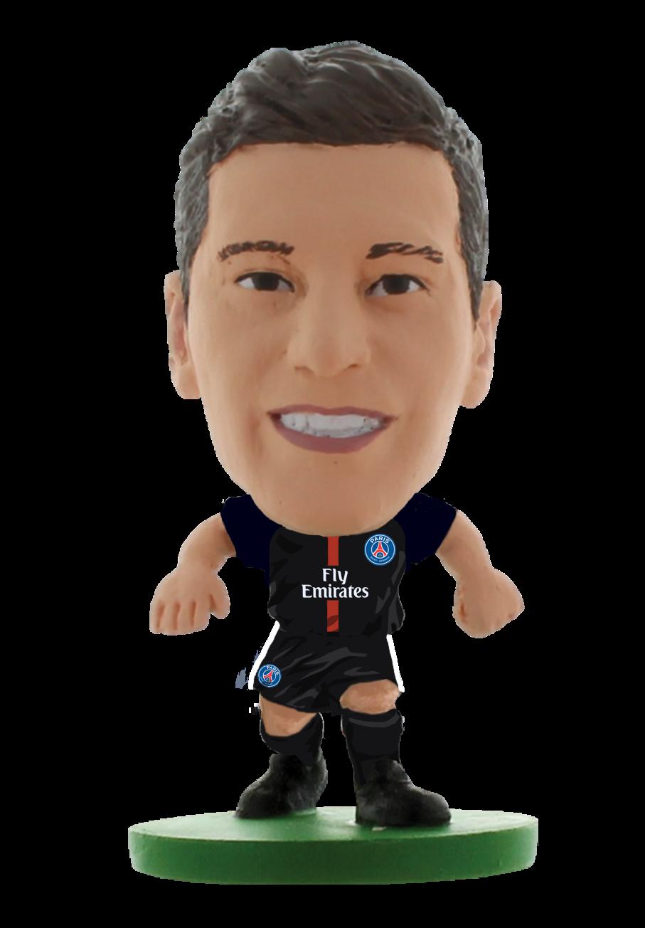SoccerStarz - Paris St Germain Julian Draxler - Home Kit (2020 version)