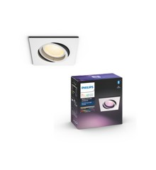 Philips Hue - Centura recessed Squared- Aluminium - White & Color Ambiance