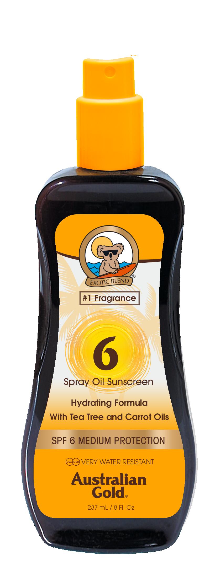Australian Gold - Carrot Spray Oil SPF 6 237 ml