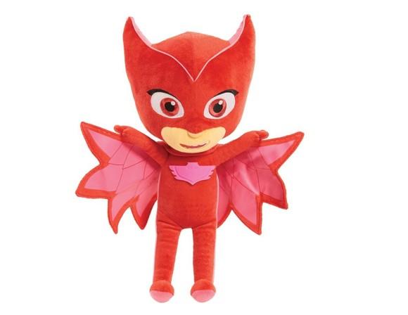 PJ Masks - Sing and Talk plush , 36 cm - Owlette