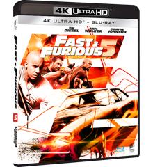 Fast & Furious 5 - 4k Uhd+ Blu ray