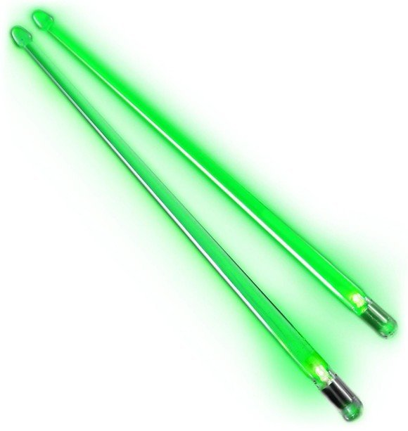 Firestix - Light Up - Drum Sticks (Screamin' Green)