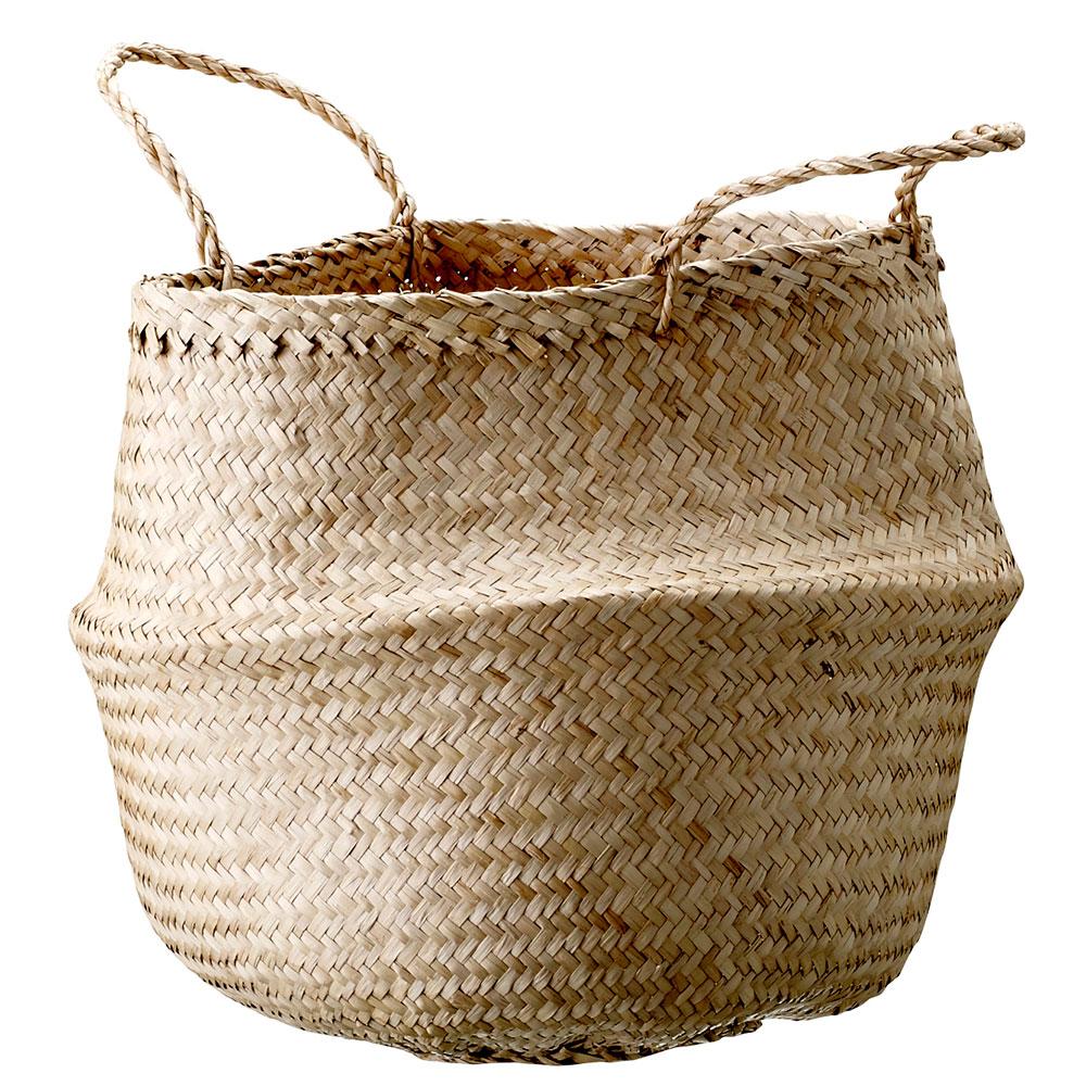 Bloomingville - Basket Ø 40 cm - Sea Grass (928004)