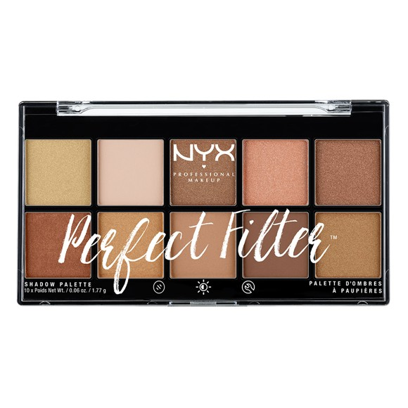 NYX Professional Makeup - Perfect Filter Shadow Palette - Golden Hour