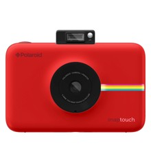 Polaroid - Snap Touch Instant Digital Camera Red