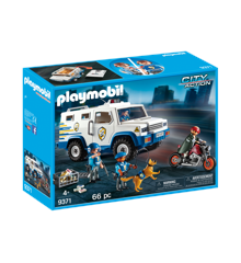 Playmobil - Police Money Transporter (9371)