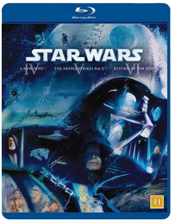 Star Wars - Original Trilogy (IV/V/VI) (Blu-Ray)