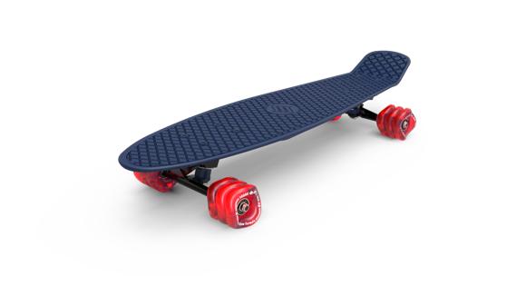 Shark Wheel - Skateboard, Sininen