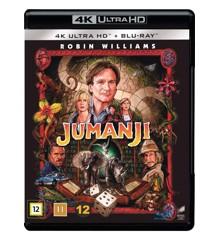 Jumanji (4K Blu-Ray)