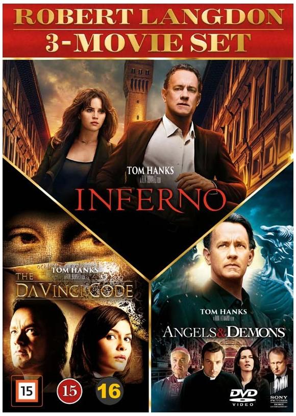 Dan Brown 3-movie set - DVD