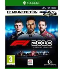 F1 2018: Headline Edition (Day One Edition)