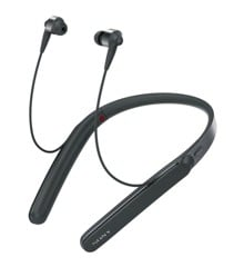Sony - WI1000X Wireless In-Ear Noise Cancelling Headphones Black