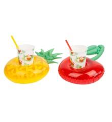 Sunnylife -Luksus Party Pina Colada drinkholder til poolen, sæt med 2 stk