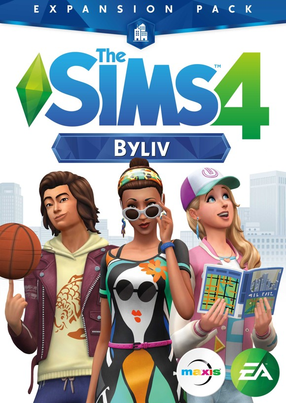 The Sims 4 - City Living (Code via Email)