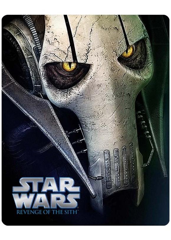 Star Wars, Episode III: Stjernekrigen III: Sith-fyrsternes hævn - Steelbook (Blu-Ray)