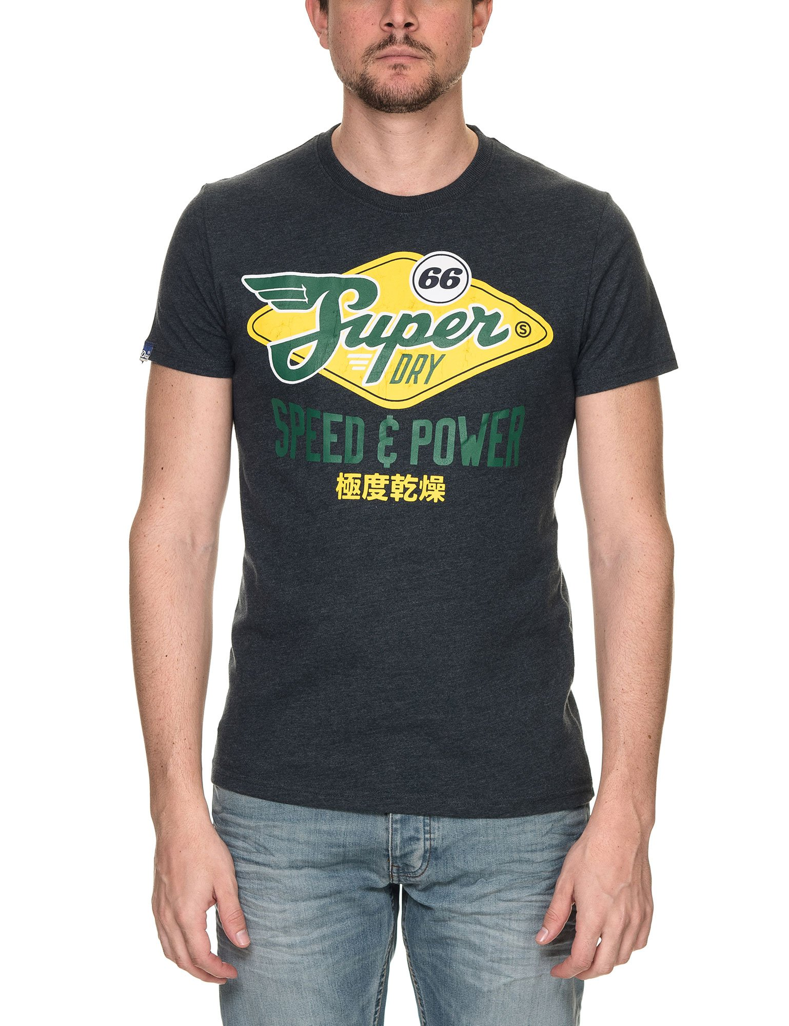 Buy Superdry Men's Reworked Classic Cali Eclipse T Shirt