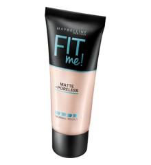 Maybelline - Fit Me Matte + Poreless Foundation - 104 Soft Ivory