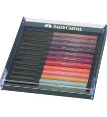 Faber-Castell - Pitt Artist Pen - Gaveæske Jordfarver (267422)