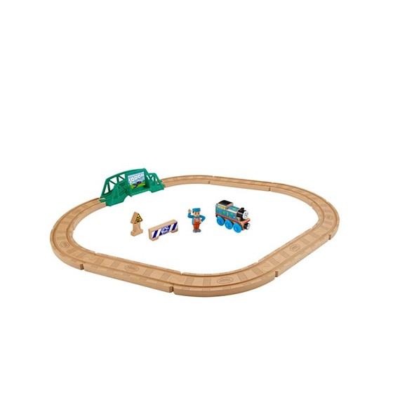 Thomas and Friends - Wood 5-in-1 Builder Set (FHM64)