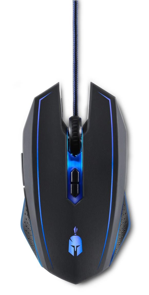 Spartan Phalanx Wired Gaming Mouse + Mousepad (EU)