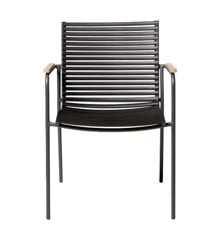 Cinas - Mood Garden Chair - Antracit/Black (3621022)