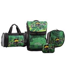 LEGO - Maxi School Bag Set (4 pcs.) - Ninjago - Energy (20114-1908)
