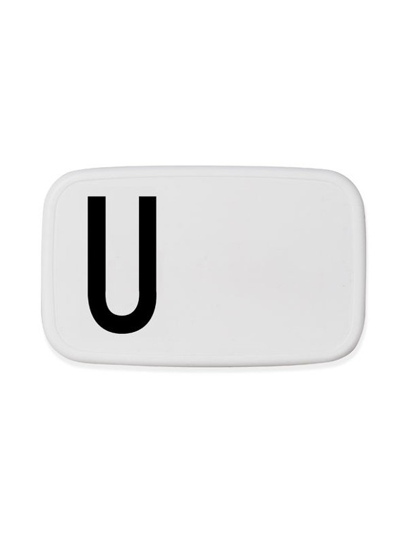 Design Letters - Personal Lunch Box - U