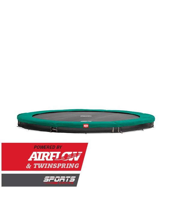 BERG - Champion 430cm  InGround Airflow Trampolin Sport