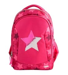 Top Model - School Bag w/Sequin Star - Pink (0010722)