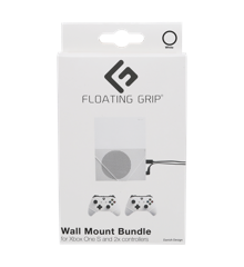 Floating Grips Xbox One S and Controller Wall Mounts - Bundle (White)