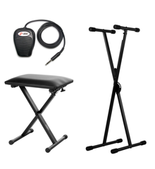 Keyboard Accessory Pack 1 (Stand, Bench & Sustain Pedal)