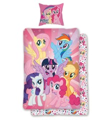 My Little Pony - Sengesæt - World of Ponies (140 x 200 cm)
