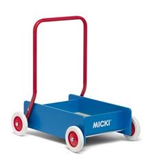 Micki - Gåvogn, blå  (10215900)